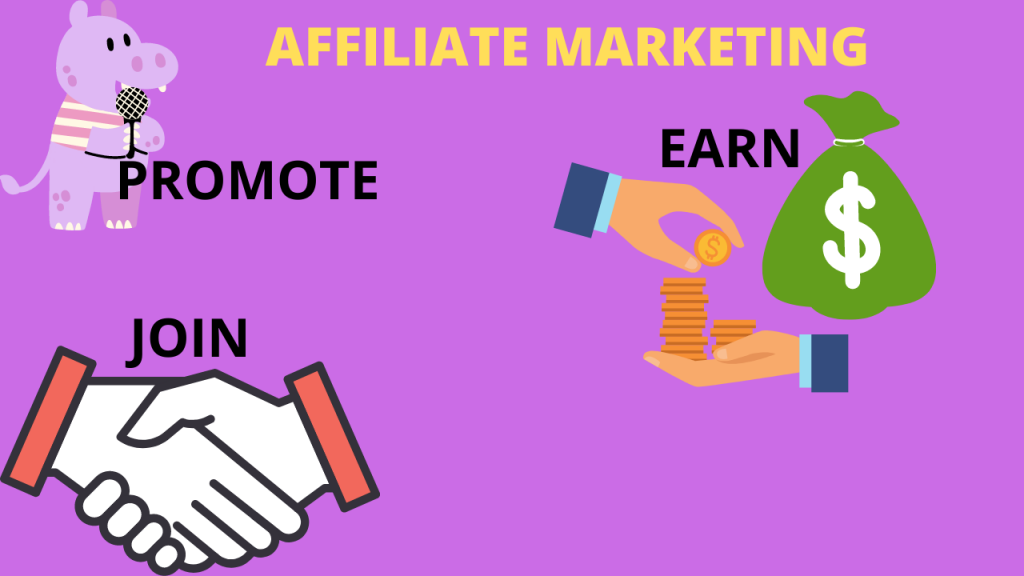 How do one become an affiliate marketer?